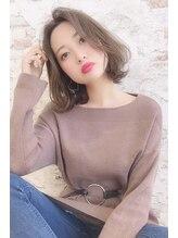 ヘアーリビング リコ 池袋西口店(hair living Liko)韓国風ミディアム【池袋/池袋西口】