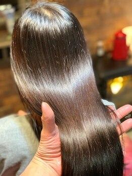 カシータ(casita)の写真/驚異の髪質改善【TOKIOハイパーインカラミ】トリートメント☆どんなに傷んだ髪も驚きのツヤと輝きに♪