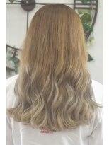 ヘアーサロン エール 原宿(hair salon ailes)(ailes原宿)style365 デザインカラー☆ラベンダーグラデーション