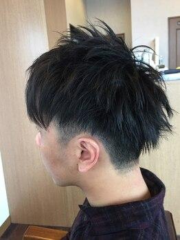 ヘアデザイン アズール(hair design azure)の写真/経験豊富なスタイリストだから気軽にきちんと相談できる!最初から最後まで丁寧に担当いたします♪