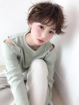 ラフィネ(raffine)小顔に見える外ハネショートで可愛く☆raffine中村大輔
