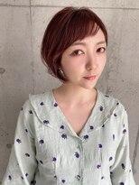 アール ヘアー デザイン(r hair design)【r hair design】ショートバング×丸みボブ