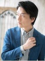 ハンサム クラシック 越谷店(Classic)アレンジ自在♪七三アップバングショートC