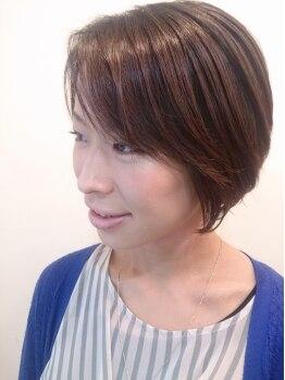 ヘミング(Heming)の写真/【カット¥3500】毎日のカワイイを応援します!ライフスタイル・骨格・髪質を考慮したカットに信頼度◎!!