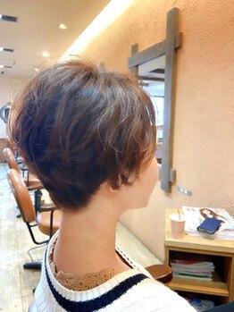 ヘアーサッシュ 豊岡(HAIR SASH)の写真/グレイカラーもお洒落に上品に*大人女性から支持を集める、高リピートサロン【HAIR SASH】