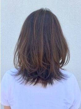 ヘアーメイク ディーエス(hair make D.S.)の写真/「白髪染めはワンパターンじゃない!」オリジナルの調合で、あなたのなりたい髪色を叶えてくれる☆