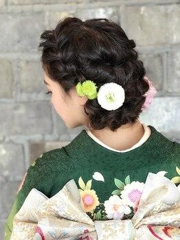 ガーランドドレッシング GARLAND DRESSINGの写真/セレモニーにも、お呼ばれの日も、駅直結のガーランドドレッシングは着付けやヘアアレンジにとっても便利!