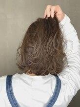 アイビー(HairRelaxation I be)透明感!!グレージュカラーボブ