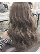 【Jule hair color】 人とは違う透明感のあるオシャレOLさんに大変身!!