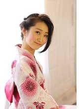 ヘアリゾート ブーケ(hair+resort bouquet)浴衣アレンジスタイル