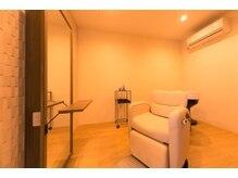 アエル(aeru)の雰囲気(ヘッドスパやマツエクを行う特別な個室空間もあり。【河原町】)
