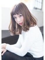 3Dカラー ジグザグバング デジタルパーマ モード 栄 美容院