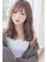 【invitation】ゆるふわロングで小顔ヘア@マイコ