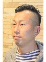 ウルスヘアー(ulus hair)アシンメトリー七三スタイル