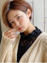 アグ ヘアー ドレス 喜久田店(Agu hair dress)《Agu hair》大人かわいい耳かけショート