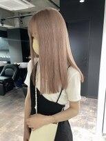 my57_大人かわいいミルクティーピンクベージュ/Wカラー/艶カラー