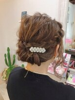 ルーナ ヘアラウンジ(Luuna hair lounge)波波アレンジ