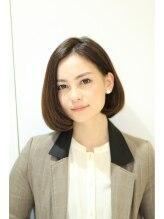 アッシュ 仙川店(Ash)【Ash仙川店】田中 宏明 センターパートの大人ボブ☆