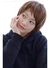 ヴィッカ 南青山店(vicca)斜めバング×簡単スタイリングショート【vicca萩原】