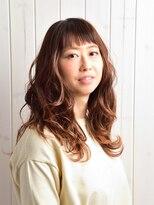 テオ ヘア(teo hair)柔らかい質感のゆるふわスタイル
