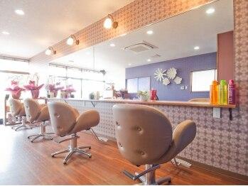 エイチ ヘアーデザイン(h Hair Design)の写真/つくば東光台、研究学園にも近く、落ち着くサロン☆育児や、家事で、忙しい方に「いやし」を与えます♪