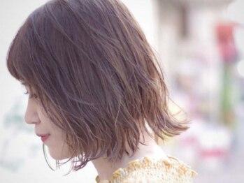 ヘアーラボ ハル(Hair Labo haru)の写真/「ダメージレス◎」「高発色◎」「ツヤ感◎」あなたのライフスタイルに合わせた髪型・髪色を提案!