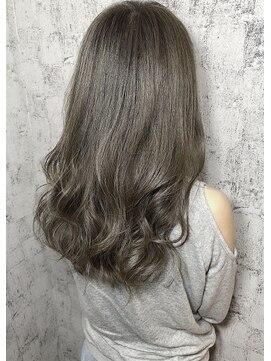 アグ ヘアー リル 志木店(Agu hair lilou)《Agu hair lilou》30代の透明感◎曲線切りっぱなしボブウルフ