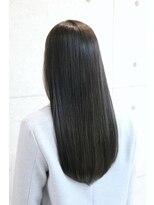 【ONE HAIR】ハイライト入りで巻いてもOK☆艶感グレージュ
