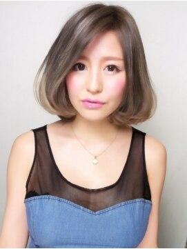 アズーア ヘアーアンドスパ(azure hair&spa)『アッシュグラデーションボブ』 担当 森【横浜駅】