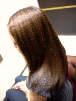 """カサブランカアン(CASABLANCA.un)の写真/100%天然成分使用!独自開発のこだわりのトリートメントが""""シルクヘア""""になれる艶髪の秘訣―…。"""