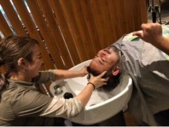 ヘアーメイク アキラ(HAIR MAKE Akira)の写真/日々の自分にご褒美を♪口コミでも「気持ち良い!」「またしたい!」と好評の技術を体験してみては?