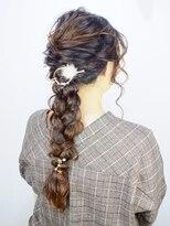 コティー ヘアアンドビューティー(Cottie HAIR&BEAUTY)♪ガーリーロング×編おろし♪