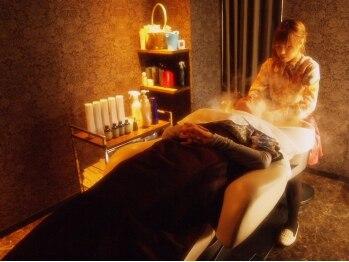 ブランシェ(Blanche)の写真/【堺東★女性Staff】個室でゆったり癒しのヘッドスパ!!フルフラットチェアでのケアは寝落ちしちゃうかも★