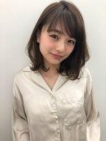 アンアミ オモテサンドウ(Un ami omotesando)【Unami】 2019春 柔らかいパーマ×小顔ミディアム 島田