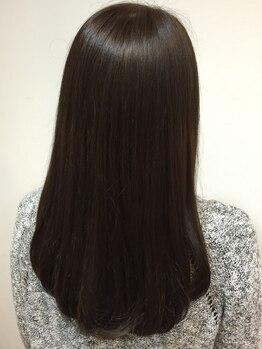 フロートリタ(FLOAT RITA)の写真/まっすぐすぎない縮毛矯正・ストレートパーマで、自然なサラサラストレートヘアに☆