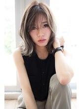 エイト プラット 渋谷2号店(EIGHT plat)【EIGHT hair】くびれミディ×モーブカラー×ハニーヘア