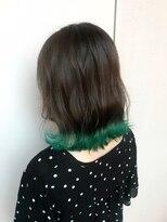 O-tete 裾カラータイプグリーン