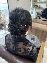 結婚式お呼ばれヘア