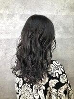 グランジュテ ヘアアンドスパ 新検見川(GRAND JETE Hair&Spa)暗髪透明感ウェーブ♪ [岩井麻由美]