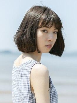ルミエ ヘアーサロン 駒沢大学駅前店(Lumie hair salon)の写真/360度キレイに見える!計算され尽くした骨格補正するカットで再現性抜群の上品な大人女性を演出…♪