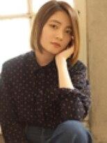 ベックヘアサロン 広尾店(BEKKU hair salon)ナチュラル仕上げの切りっぱなしボブスタイル☆