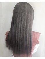 ソース ヘア アトリエ 京橋(Source hair atelier)グレイパール インナーブルー