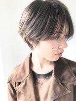 シータ(sheta)【sheta/三畑賢人】前下がり大人めハンサム小顔ショート