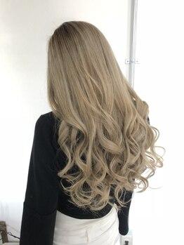 アイボリーヘアワークスアンドエステティック(Ivory Hair works Esthetic)の写真/《石井町》外国人風トレンドカラーなら【Ivory】。周りと差をつけたいオシャレ女子におすすめ♪