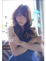 ラベリー(LOVELEY)LOVELEY ゆるふわフェニミンウェーブ ミルクティーカラー☆403