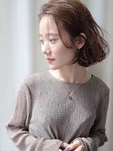 シュシュプライベートヘアサロン(Chou chou private hair salon)【 chouchou】ナチュラルボブ*柔らかいブラウンカラー