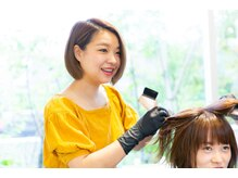 【adorableカラー】イルミナカラー/インナーカラー/白髪染め/髪質改善