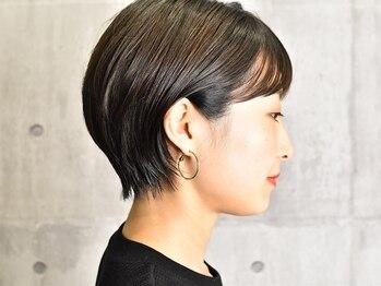 ジャイロヘア(gyro hair)の写真/【定番ショートで実感できる圧倒的技術】トップクラスのカットで再現されたお洒落ショートが季節を彩る♪