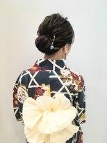 フラココトリコ(hurakoko trico)[hurakokotrico]和泉美佳 兵児帯で大人かわいい浴衣スタイル