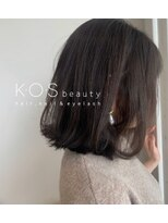 ケーオーエス(KOS beauty hair, nail & eyelash) 重めロブ